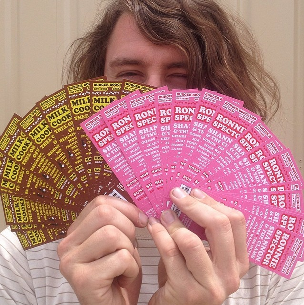 Lee with Tickets